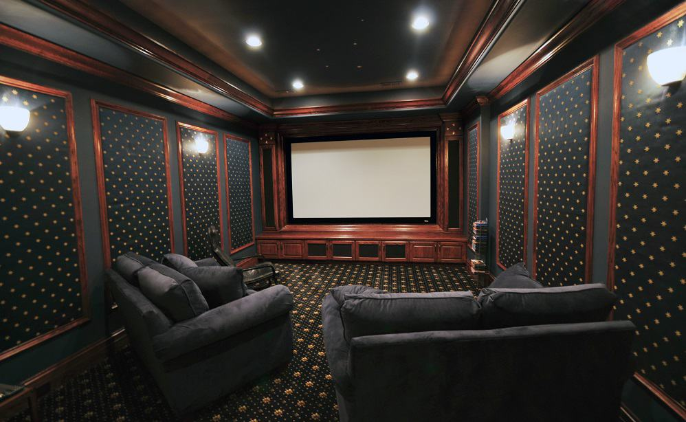 dark home theater