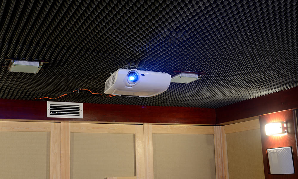 soundproofing projector