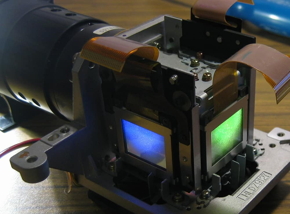 lcd projector prism